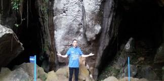 Anggota Komisi X DPR RI, Edhie Baskoro Yudhoyono (Ibas) mengunjungi Goa Ngerit, Desa Senden, Kecamatan Kampak, Kabupaten Trenggalek, Jawa Timur. (Foto: Muh Nurcholis/NusantaraNews)