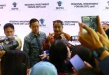 Menteri Pariwisata Arief Yahya bersama Kepala Badan Koordinasi Penanaman Modal Thomas Trikasih Lembong. (FOTO: Istimewa/Kemenpar)