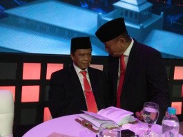Anton Charliyan dan TB Hasanuddin (Foto Istimewa/Nusantaranews.co)