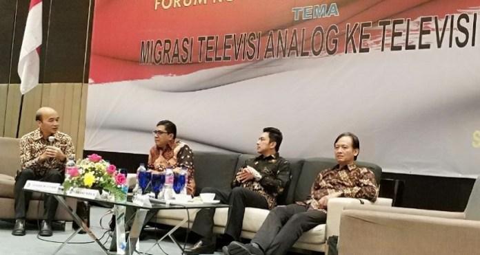 Forum Koordinasi dan Konsultasi Migrasi Televisi Analog ke Digital (Foto Istimewa/Nusantaranews.co)