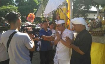 Parisada Hindu Dharma se-eks Kawedanan Pare menggelar kirab Melasti atau akrab dikenal Ogoh-Ogoh dalam rangka menyambut Hari Raya Nyepi tahun 1940 Saka.