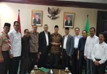 Rektor Universitas Islam Negeri Sultan Syarif Kasim (UIN Suska) Provinsi Riau, Muzir Hitami memastikan Perkemahan Wirakarya Perguruan Tinggi Keagamaan (PW PTK) tingkat Nasional ke-14 sudah hampir final. (Foto: Istimewa)