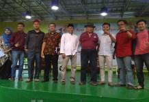 Budayawan Nasional Ridwan Saidi, Robitul Umam dan Andi Yahya dalam acara Kongkow Kebudayaan dalam rangka menjelang Pilkada Serentak di 171 daerah yang digelar Bens Radio, Jakarta, Sabtu (17/3). (Foto: Istimewa/Alya Karen)
