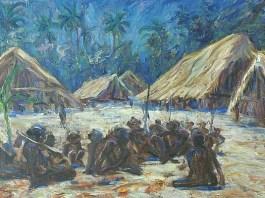 Masyarakat Adat Papua. (FOTO: Nasbahry Gallery)