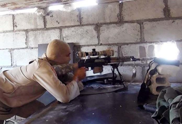 Teroris Penembak Jitu di Ghouta Timur