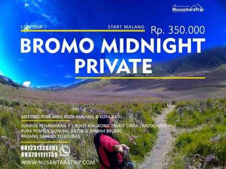 Paket Wisata Bromo Malang Midnight Liburan ke bromo