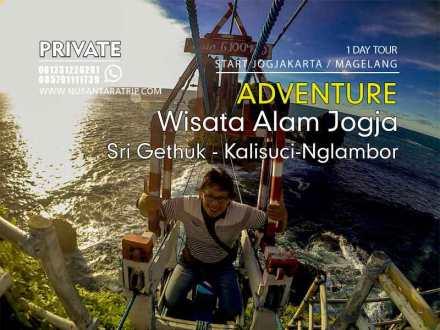 Paket Wisata Alam Yogyakarta Sri Gethuk-Kalisuci-Nglambor