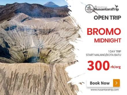 Open Trip Bromo Midnight start Malang