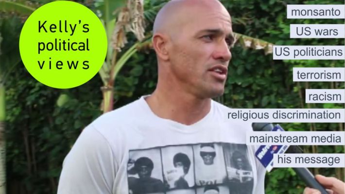 Kelly Slater's Political Views