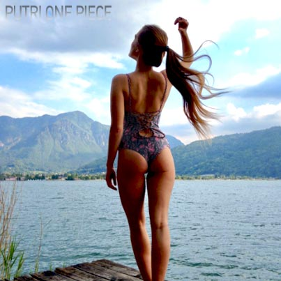 (English) Debali's gorgeous batik swimming suit : Bikini Putri One Piece