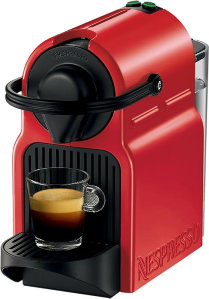 الة صنع قهوة نسبريسو اينسيا احمر