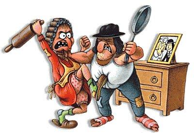 पति पत्नी और झगड़ा , Argument between Husband and Wife