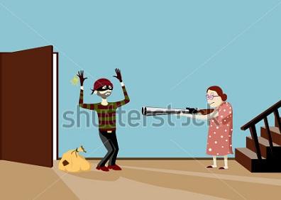 एक खतरनाक कहानी बूढ़ी औरत और चोर , Dangerous Story of Old Woman and Thief