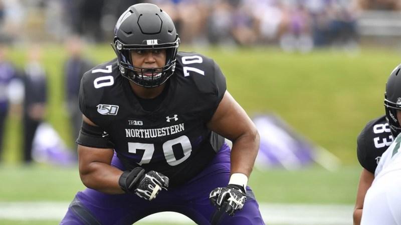 Rashawn Slater Declares for the 2021 NFL Draft - Northwestern University Athletics