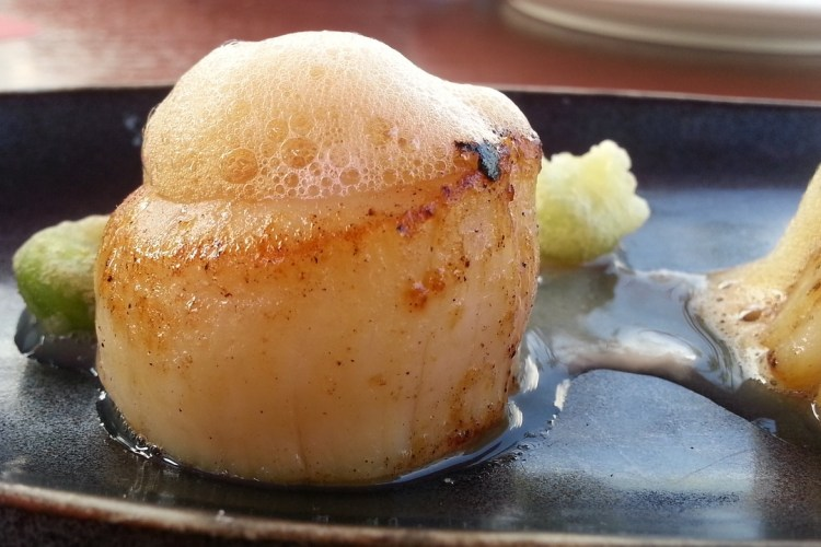 Scallops with Butter and Lemon Recipe