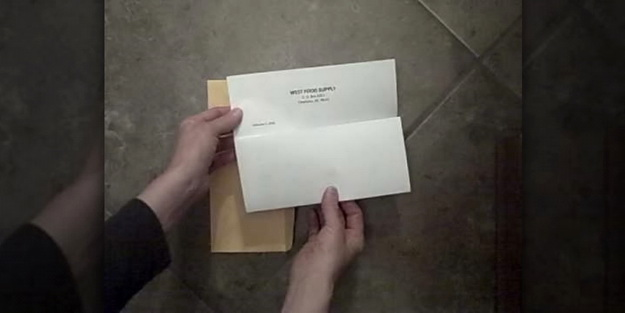 Right Way to Fold a Business or Professional Letter & Put It In an Envelop