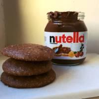 Snabba kakor med nutella