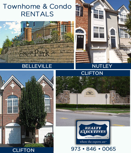 Townhome & Condo Rentals In Nutley New Jersey