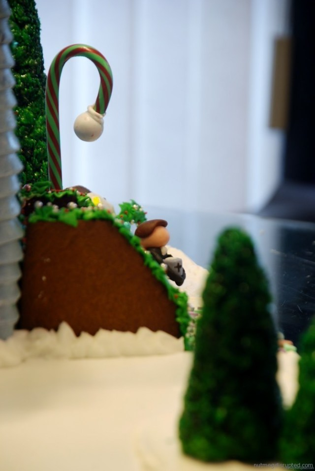 Midnight Mass Gingerbread Church on Nutmeg Disrupted