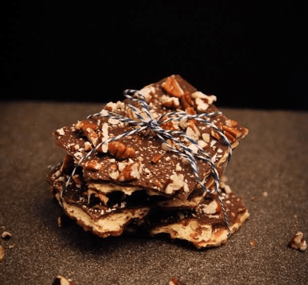 Graham Wafer Toffee from Nutmeg Disrupted