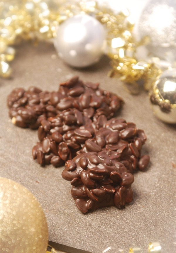 Peanut Clusters from Nutmeg Disrupted Confections
