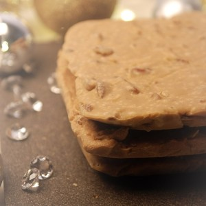 Nutmeg Disrupted Confections Butter Pecan Fudge