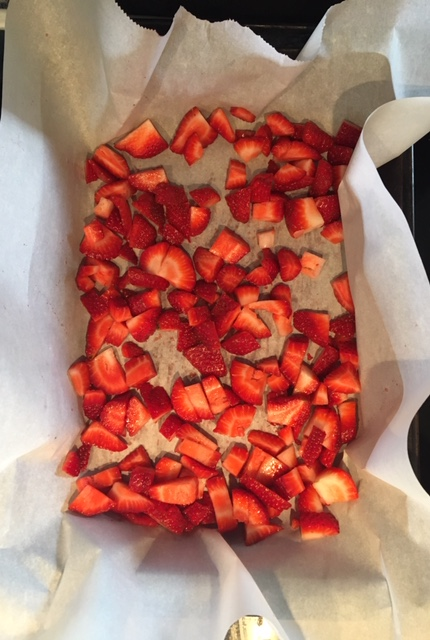 Roasting Strawberries on Nutmeg Disrupted