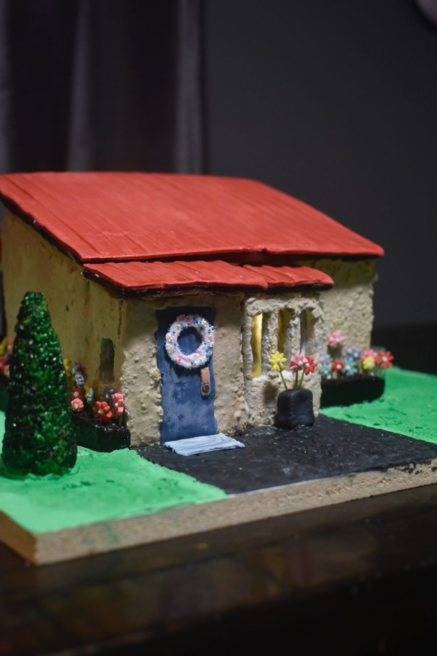The 2021 charity gingerbread build on Nutmeg Disrupted