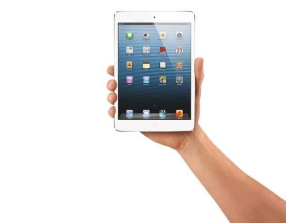 iPad mini i näven