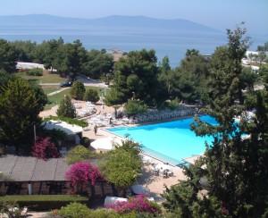 Swimming pool Greece