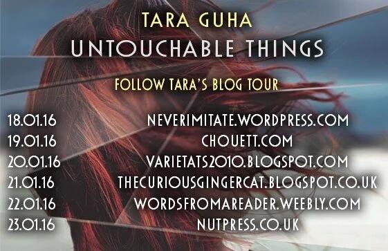 Untouchable Things blog tour