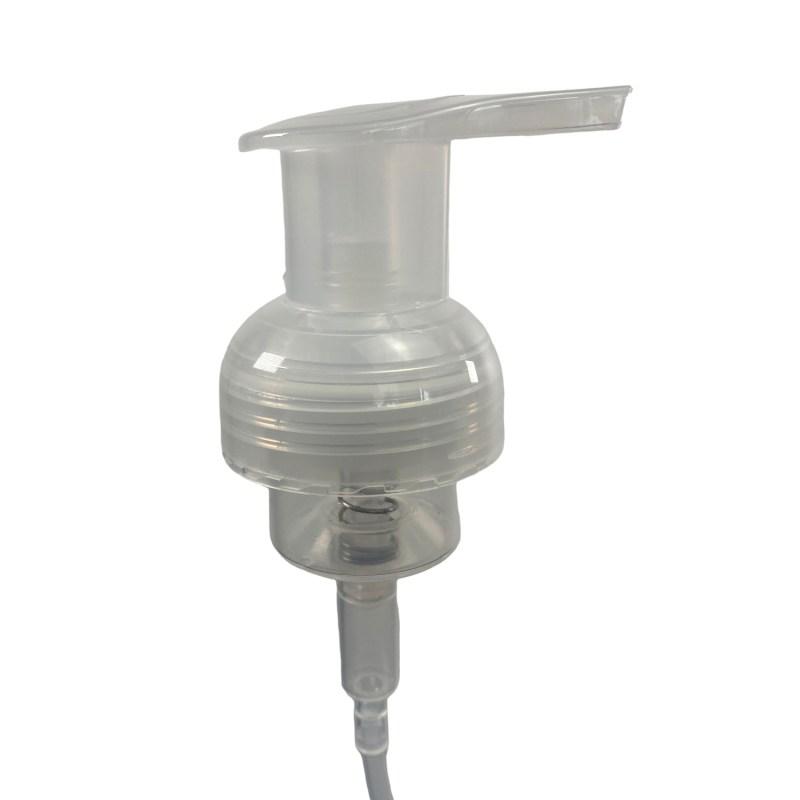 Foaming pump for hand sanitizer