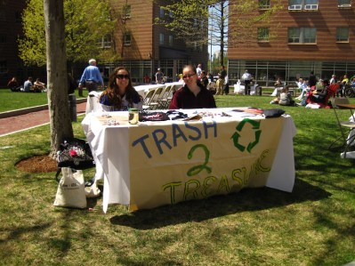 T2T table in the quad!