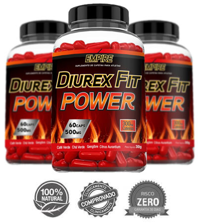 Diurex FIt Power 3 frascos