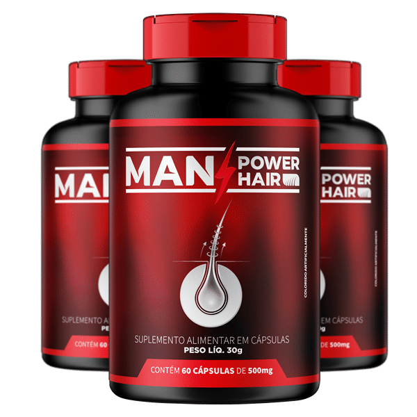 Man Power Hair 3 Frascos