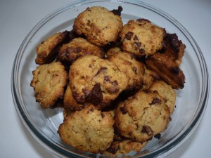 cookies farine pois chiches