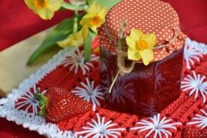 confiture de fraises de mon enfance