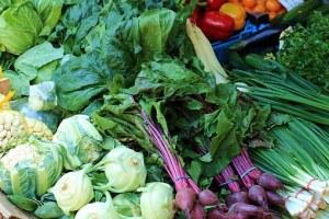 Les fibres dans les légumes, les fruits et autres aliments