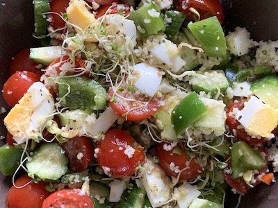 Salade pour le midi
