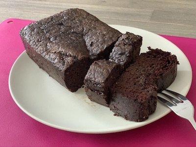 Cake chocolat haricots rouges