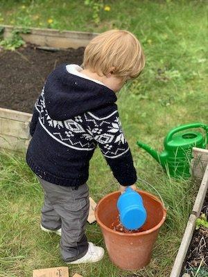 Jeu enfant : potager, cuisine