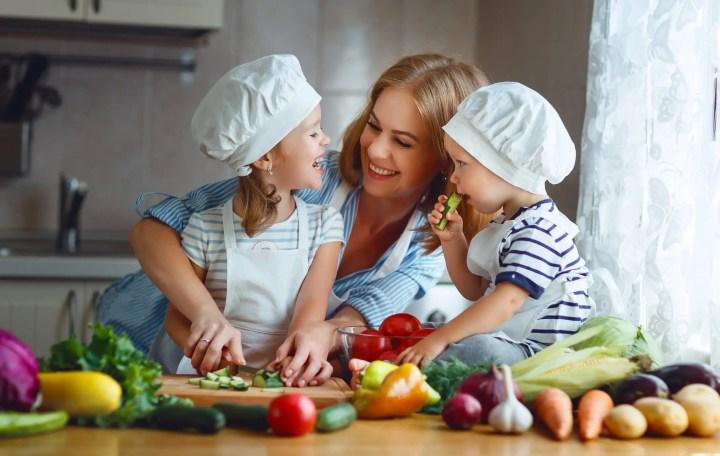Cuisiner sain en famille