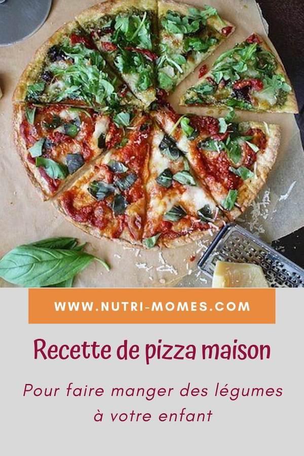 Recette de pizza maison pour enfant