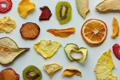 Fruits séchés comme en-cas
