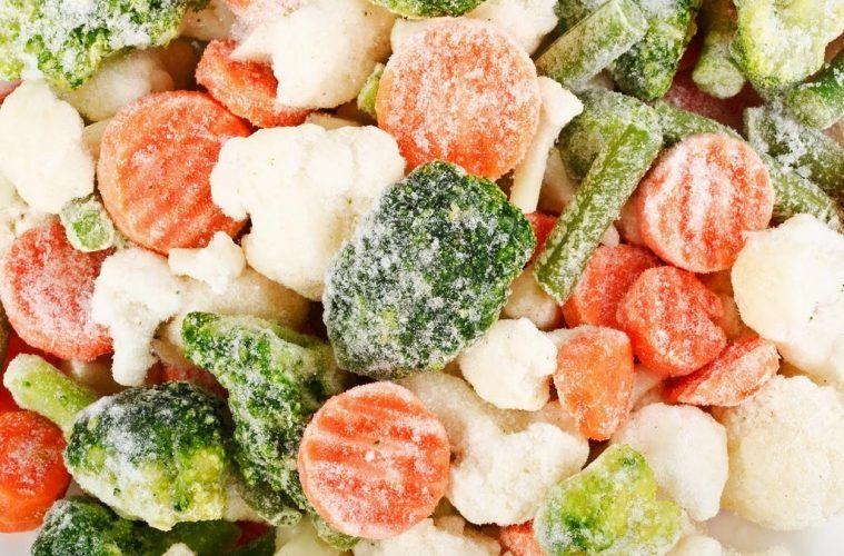 ¿Las verduras congeladas pierden su valor nutritivo?