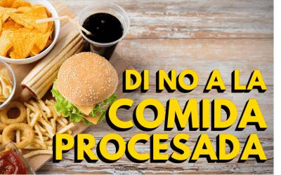 Alimentos procesados. ¿Por qué evitarlos?