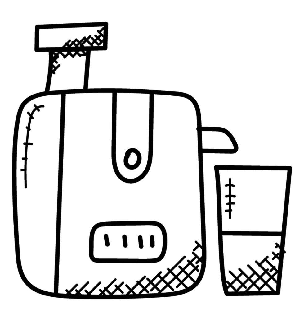 Doodle of a Juicer
