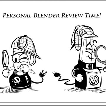 Cartoon of 2 personal blender detectives