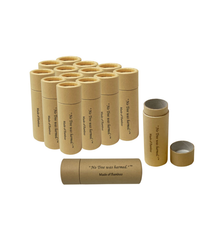 1 ounce Lip Balm Push up tubes