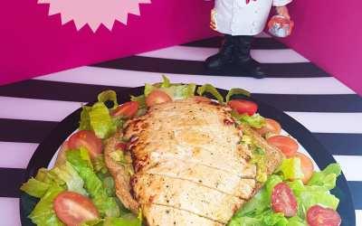 صدر الدجاج مع الغواكامولي دايت